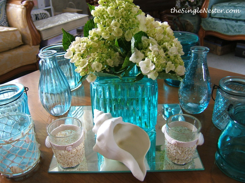 Turquoise Tablescape Perfect for Summer