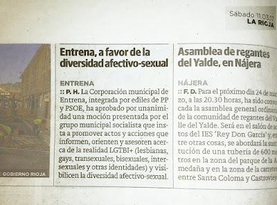 Entrena, a favor de la diversidad afectivo-sexual