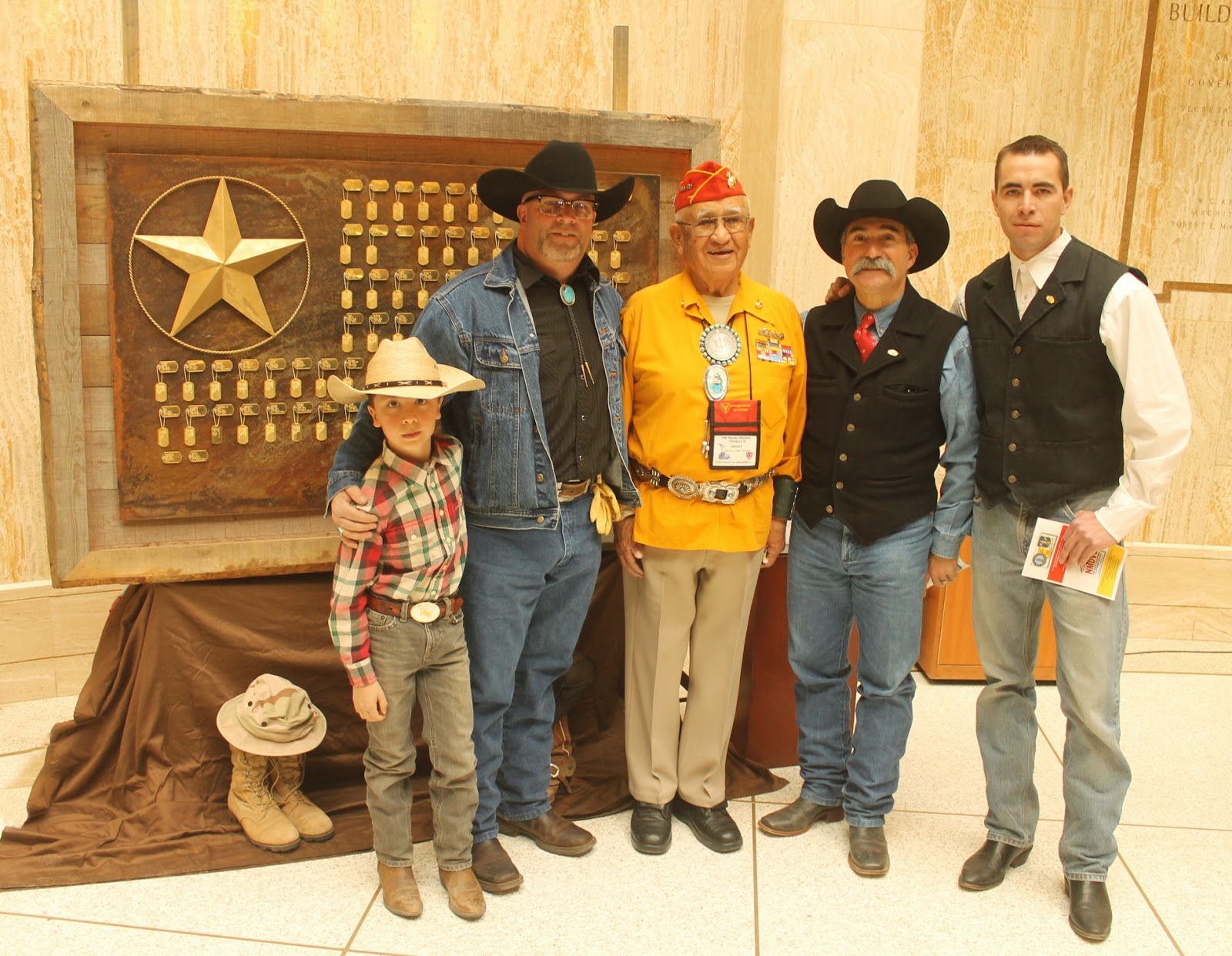 Horses For Heroes - Cowboy Up! Executive director Rick Iannucci with American  Gold Star Mother and rancher Becky Christmas and Cowboy Up!director Nancy De  ... 08a5d856d
