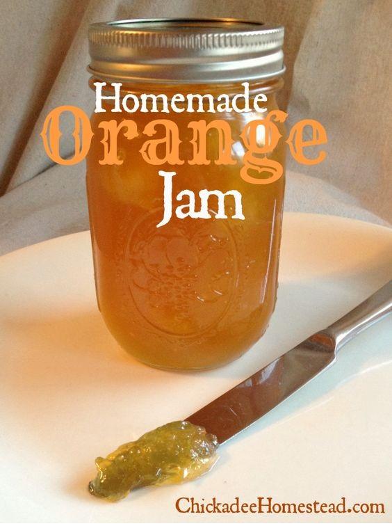 Homemade Orange Jam Recipe