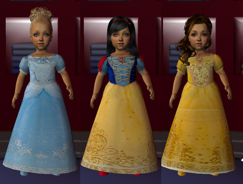 0a7919df9e0f ... The Sims 3 Halloween Costumes & The Sims 4 V&ires The Sims 3 Toddler ...