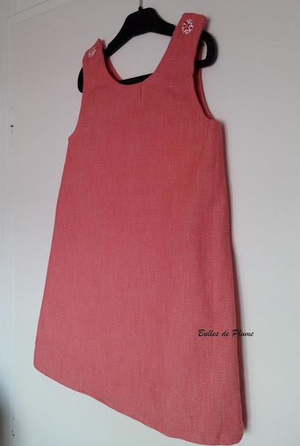 Bulles de Plume - couture facile robe poppy