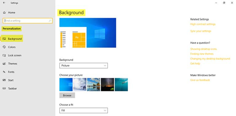 How To Change Theme, Lock Screen And Wallpaper In Windows 10