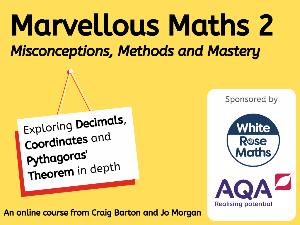 CPD: Marvellous Maths 2