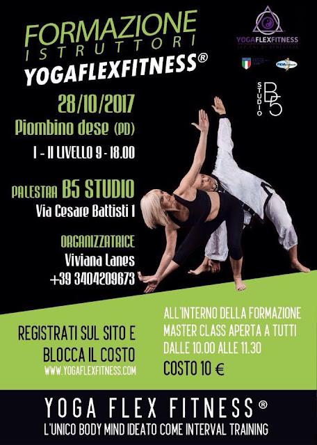 Fomazione istruttori Yogaflexfitness, 28 ottobre 2017 a Padova