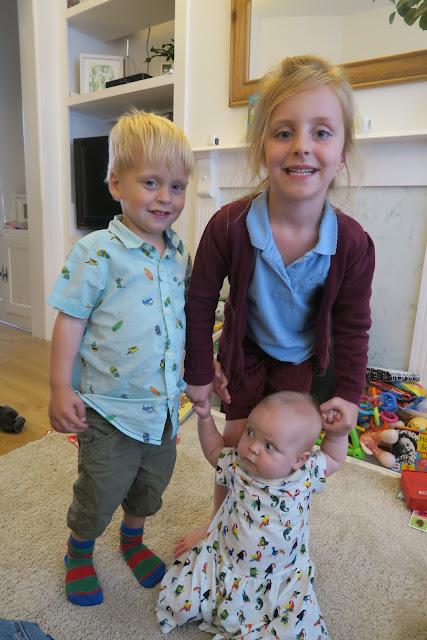 Lily, Alexander and Freyja