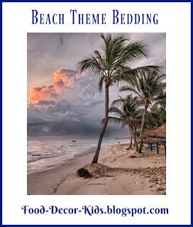 Beach Theme Bedding, Food-decor-kids.blogspot.com