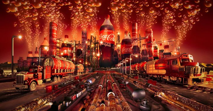Carl Warner - Photography - Coca-Cola City