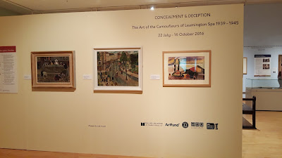 'Concealment & Deception' exhibition