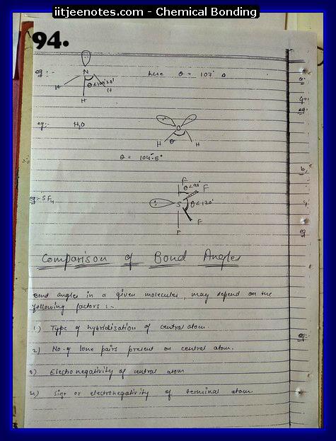 Chemical-Bonding Notes chemistry22