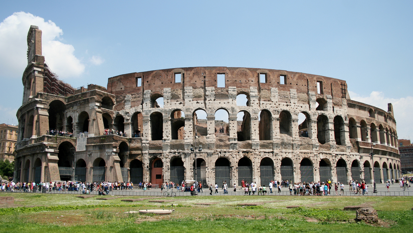 Roman Colosseum- Wonder Of The World High Resolution Hd
