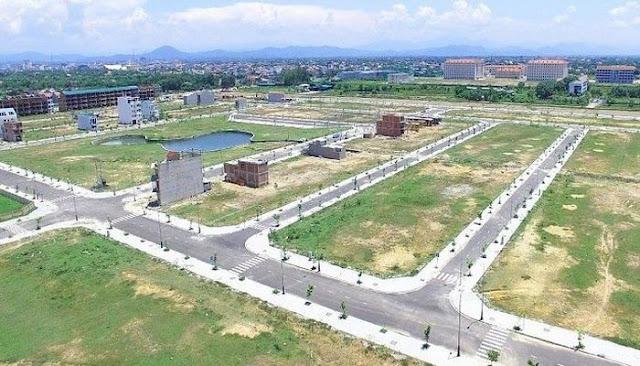 Dự án đất nền trong giai đoạn hoàn thành cơ sở hạ tầng