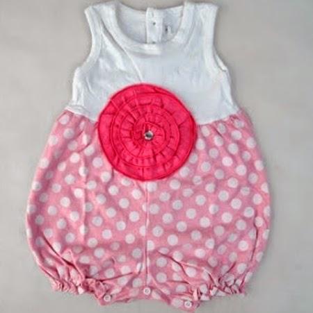 model baju bayi perempuan umur 4 bulan