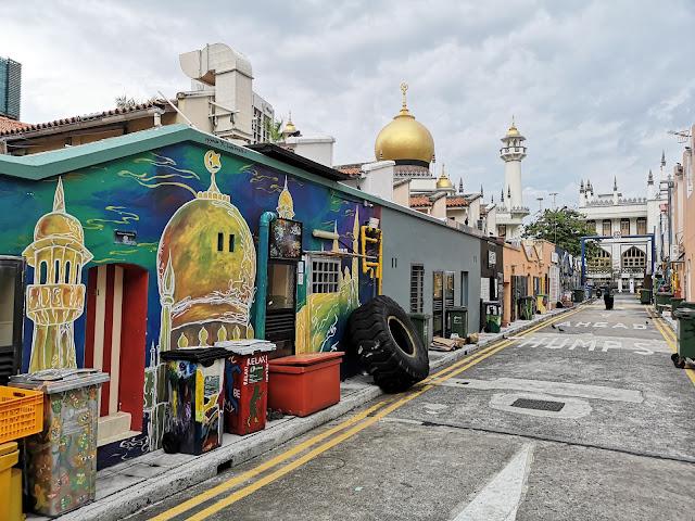 Kampong Glam mural