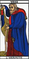 L'Arcane XIV - L'Hermite - Tarot de Marseille