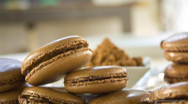 macarons-chocolat