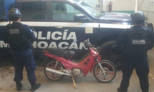 En distintos hechos, asegura SSP dos vehículos en Zamora