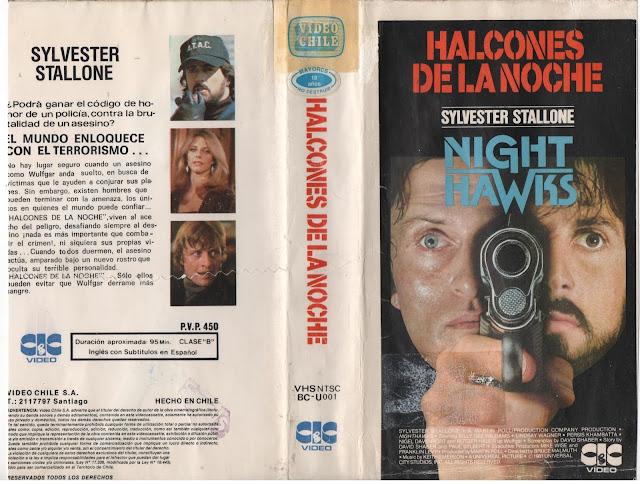 """Pelicula: """"Halcones de la Noche"""" - 1981"""