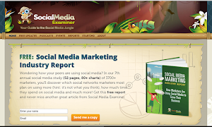 Social Media Examiner offers great contents
