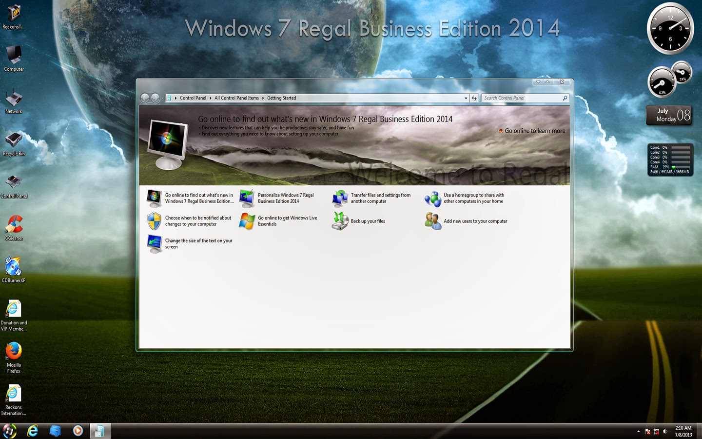 Windows 7 regal business edition 2017 sp1 x86 activated by nisha