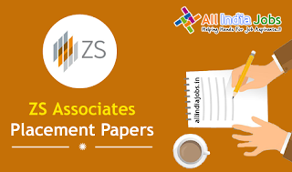 ZS Associates Placement Papers