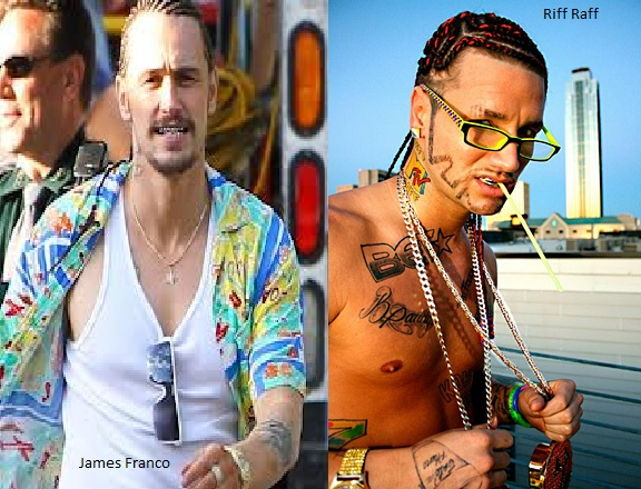 tila tequila pregnant: Rapper Riff Raff Says James Franco ...