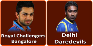 RCB Vs DD is on 16 April 2013