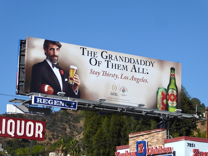 granddaddy of them all Augustin Legrand Dos Equis billboard