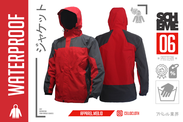 Men's Outdoor Jackets Waterproof - Konveksi Apparel Custom
