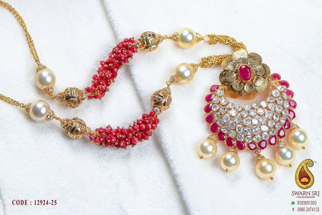 Semi Precious Beads Set by Swarn Sri