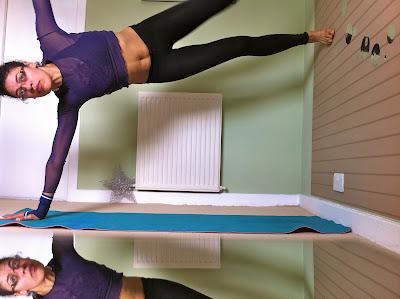 ॐ yogasanity  star pose challengeayamihiroshige ॐ