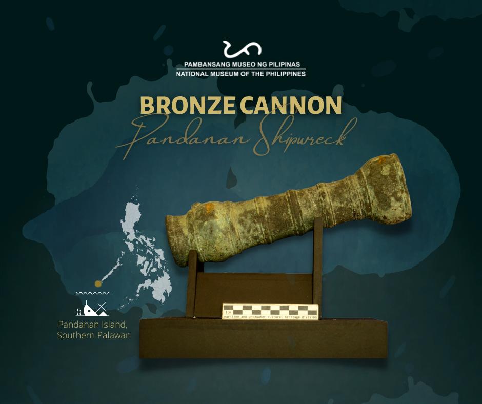 Pandanan Shipwreck Bronze Cannon