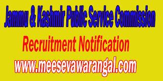 Jammu & Kashmir Public Service Commission