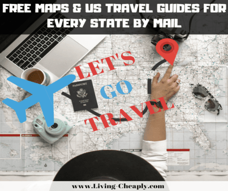 Free Us Map By Mail.Free Map Travel Guides For Every Us State By Mail Living Cheaply