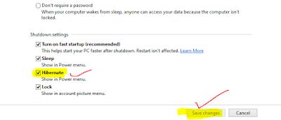 How to Setup Hibernate option in Windows 10