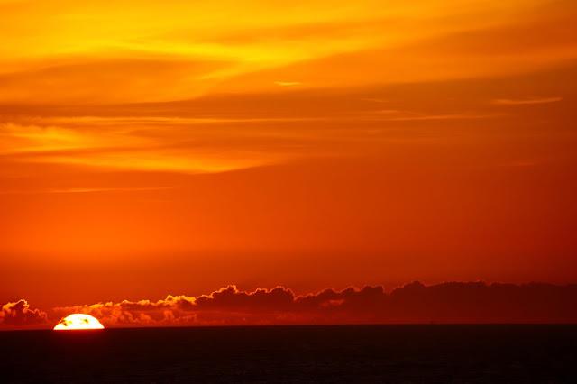Puesta de Sol Playa de la Lanzada