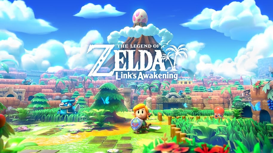 Legends Of Zelda Links Awakening 8k Wallpaper 5534