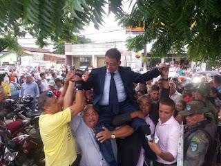 Luiz Antônio, vice de Bayeux, toma posse e anuncia medidas emergenciais
