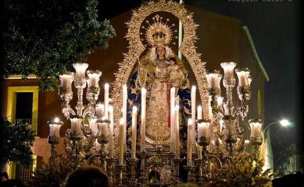 Horario e Itinerario Procesión Rosario del Barrio León. Sevilla 14/10/2018