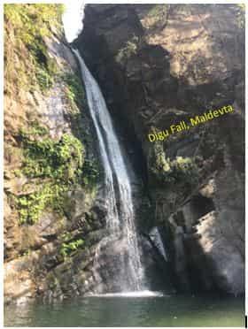 Dugu fall in Dehradun, uttarakhand