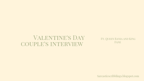 Valentine's Day Couple Interview // Rania and Fane