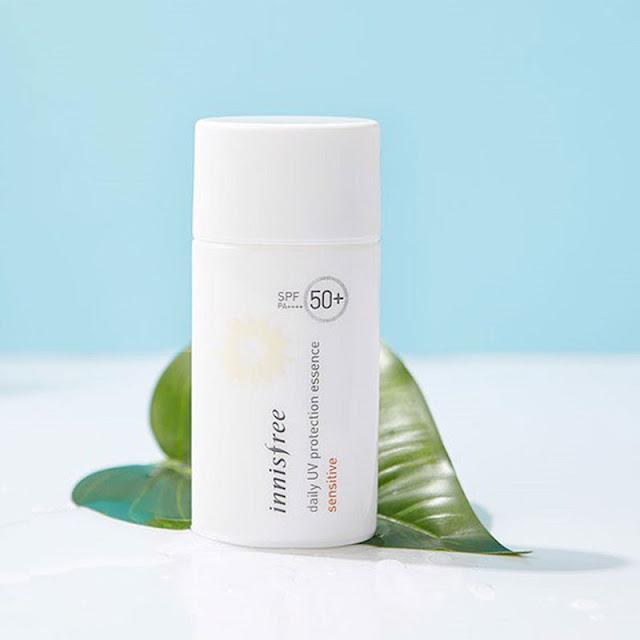 kem chong nang cho da dau Innisfree Daily UV Protection Cream No Sebum