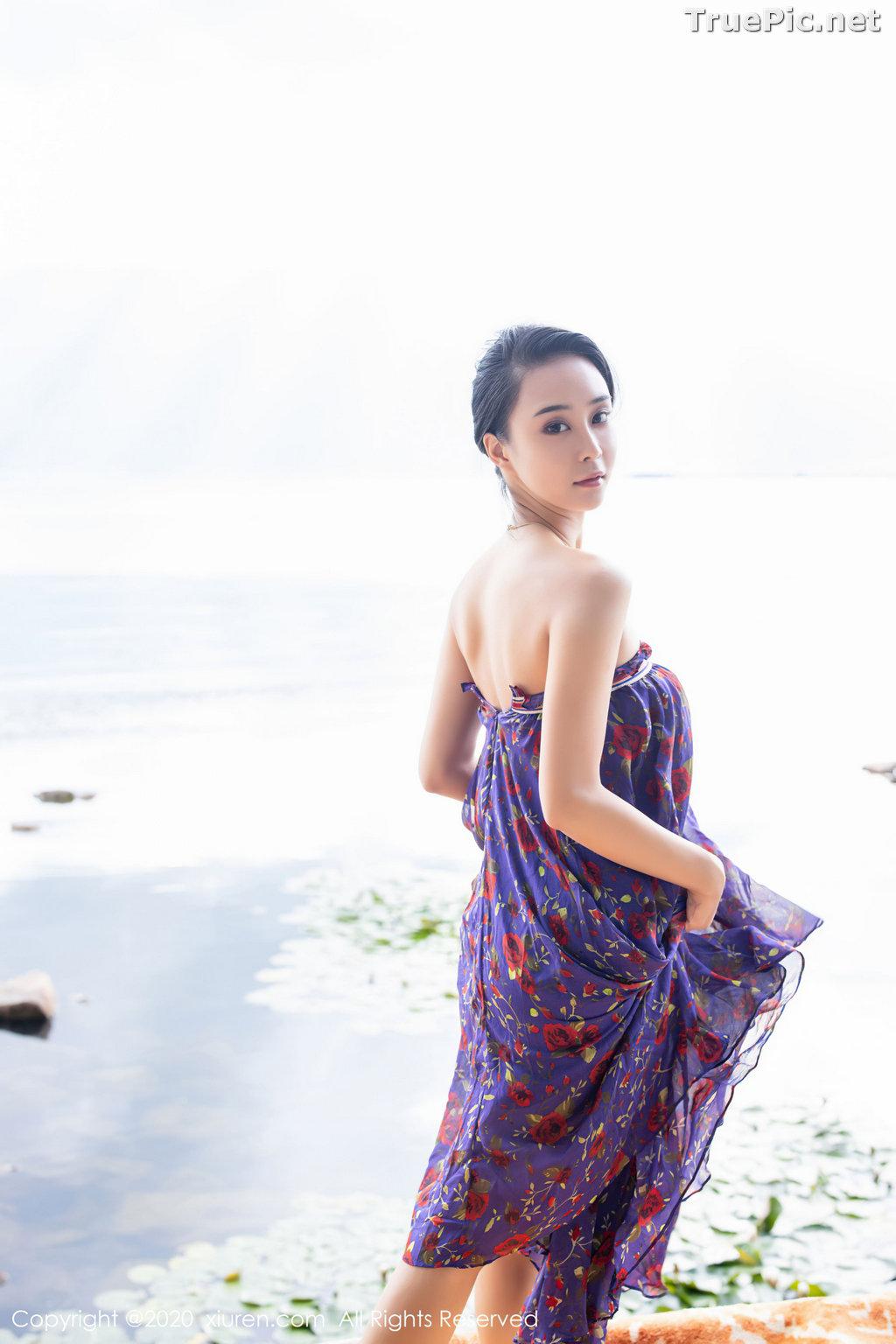 Image XIUREN No.2544 - Chinese Model - 蓝夏Akasha - Purple Queen - TruePic.net - Picture-32