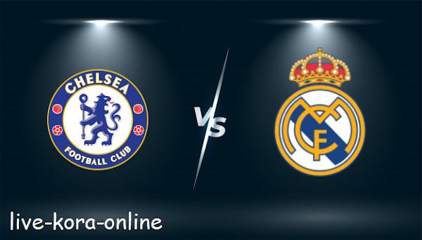 نتيجة مباراة ريال مدريد وتشيلسي اليوم بتاريخ 27-04-2021 في دوري ابطال اوروبا