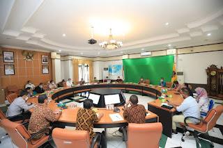 Wali Kota Memimpin Rapat Koordinasi