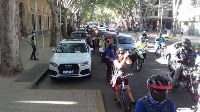 """""""Caravanazo"""" de gremios en San Luis por demandas sectoriales"""