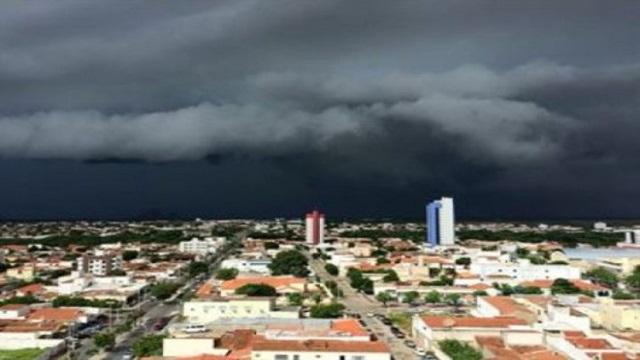 Previsão de chuvas fortes em Patos e região entre hoje e quinta-feira