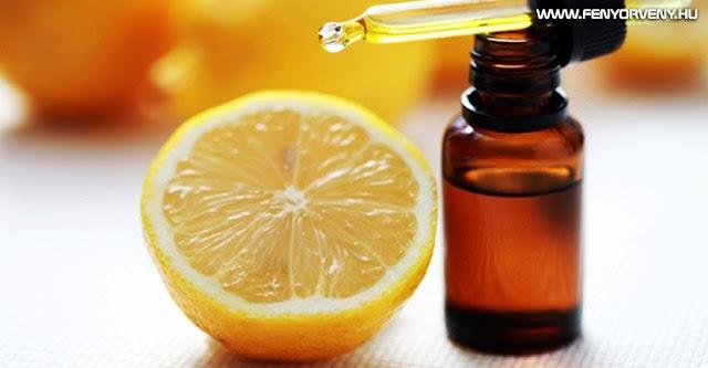 A citromolaj jótékony hatásai