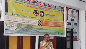 KISS-JO, CEP-SSL Pelopori Desa Digital, Wabup Lengkong Launching Go Online Kolongan Tetempangan
