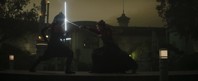 Ahsoka Tano Duels The Magistrate The Mandalorian Chapter 13 Disney Plus